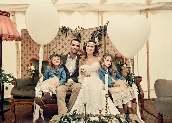 Vintage furniture hire for weddings