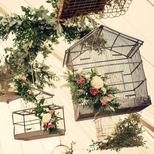 Vintage Birdcage wedding hire